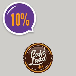 imagem do cupom CaféLand