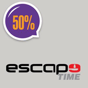 imagem do cupom Escape Time RJ