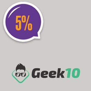 imagem do cupom Geek 10